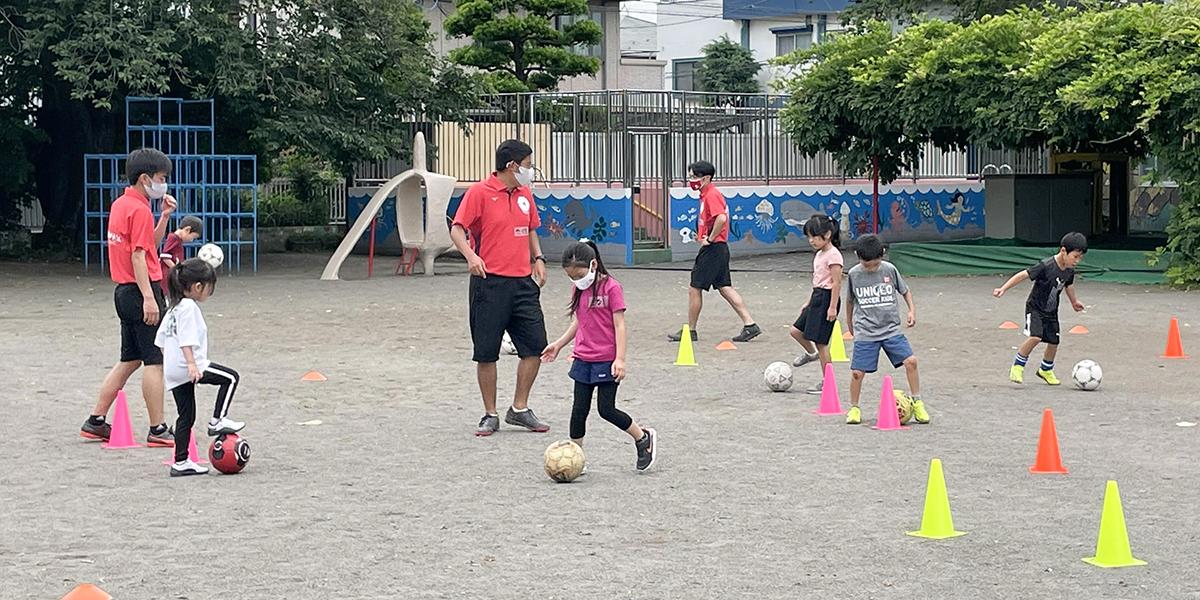 サッカーレベルアップ教室